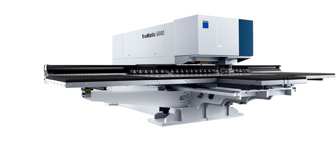 Combiné découpe/poinçonnage laser fibre, première machine de ce type en France