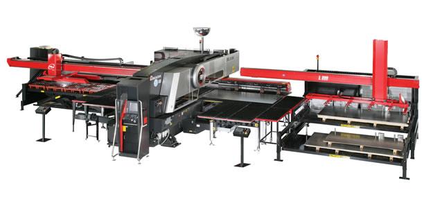 Amada EML3610 PRIII L300 Combiné Poinçonneuse / Laser Chargement - Déchargement automatique